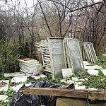 Sprzątanie terenu zewnętrznego - likwidacja dzikiego wysypiska