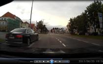 Taxi pirat w Gdanku GA 613AS przestraszyl...