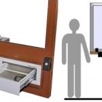 Stanowiska kasowe / podawcze do obsługi osób na wózku