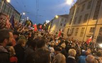 Trwa protest w Gdańsku na ul. Nowe Ogrody