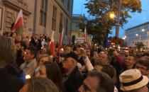 Protest przed Sądem