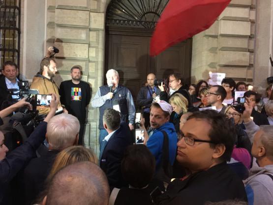 News: Niedzielne protesty przed sądami w Trójmieście