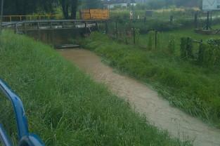 Środowe opady deszczu w Trójmieście