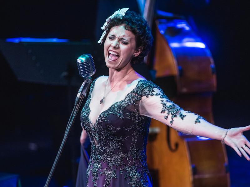 Krystyna Durys zaśpiewała dla Elli Fitzgerald