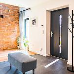 Drzwi wejściowe SOLANO oraz okna FEN92
