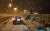 Pierwsze opady śniegu w Trójmieście