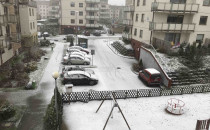 Śnieg na ulicach Trójmiasta