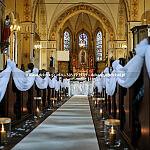 Dekorowanie kościołów na ślub dekoracja kościoła Gdynia Gdańsk Sopot wystrój kościoła Trójmiasto