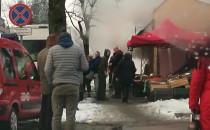 Pożar sklepu warzywnego przy rondzie na...