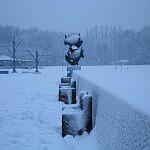 Bulwar Nadmorski zimą