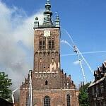 Pożar Kościoła Św. Katarzyny 22.05.2006 r.