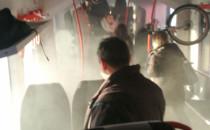 Dymi się kolejka na PKM Kiełpinek