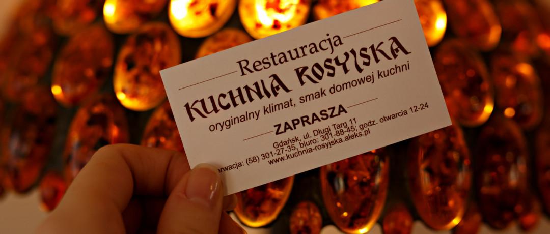 Kuchnia Rosyjska Gdansk