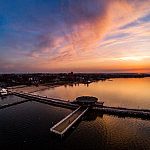 Na Molo w Pucku z drona