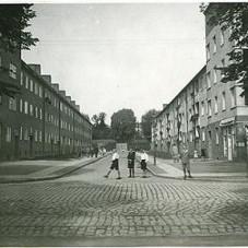 Domy przy ul. Sowińskiego 1 - 17 na Siedlcach