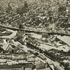 Panorama Gdańska z Ołowianką i Motławą