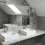 Łazienka z umywalkami nablatowymi