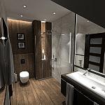 Aranżacja łazienki, Rumia