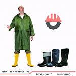 Płaszcz PCV&NYLON przeciwdeszczowy   BHP Konbrud