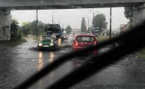 Hutnicza zalana po opadach deszczu