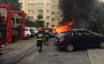 Spłonął samochód na Morenie
