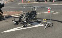 Wypadek na trasie Ironmana