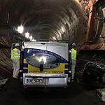 Prace przy budowie tunelu pod Martwą Wisłą