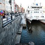 Nabrzeże kanału Motławy