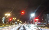 Śnieg i lód na ulicach