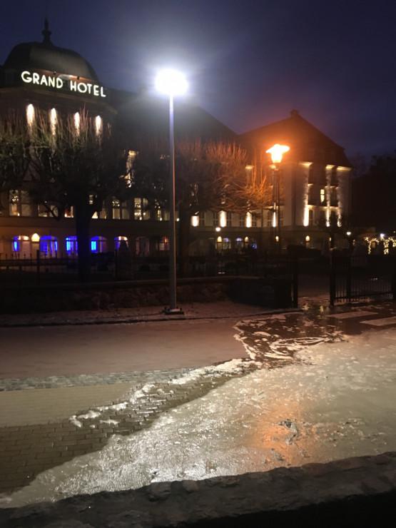 Grand Hotel w Sopocie zagrożony podmyciem