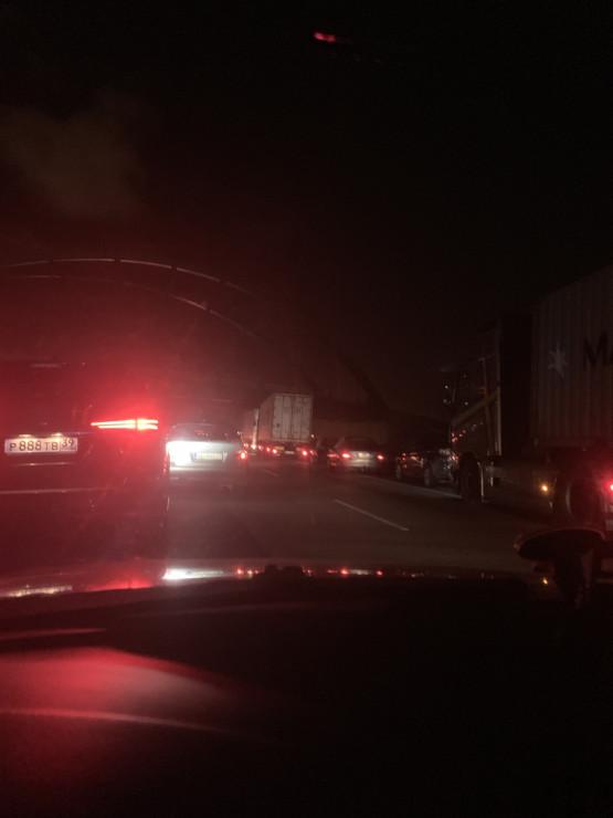 Zderzenie 5 aut na Trasie Sucharskiego