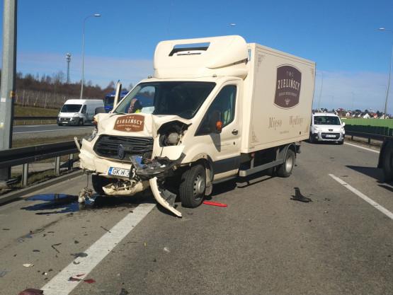 Wypadek dwie osoby ranne