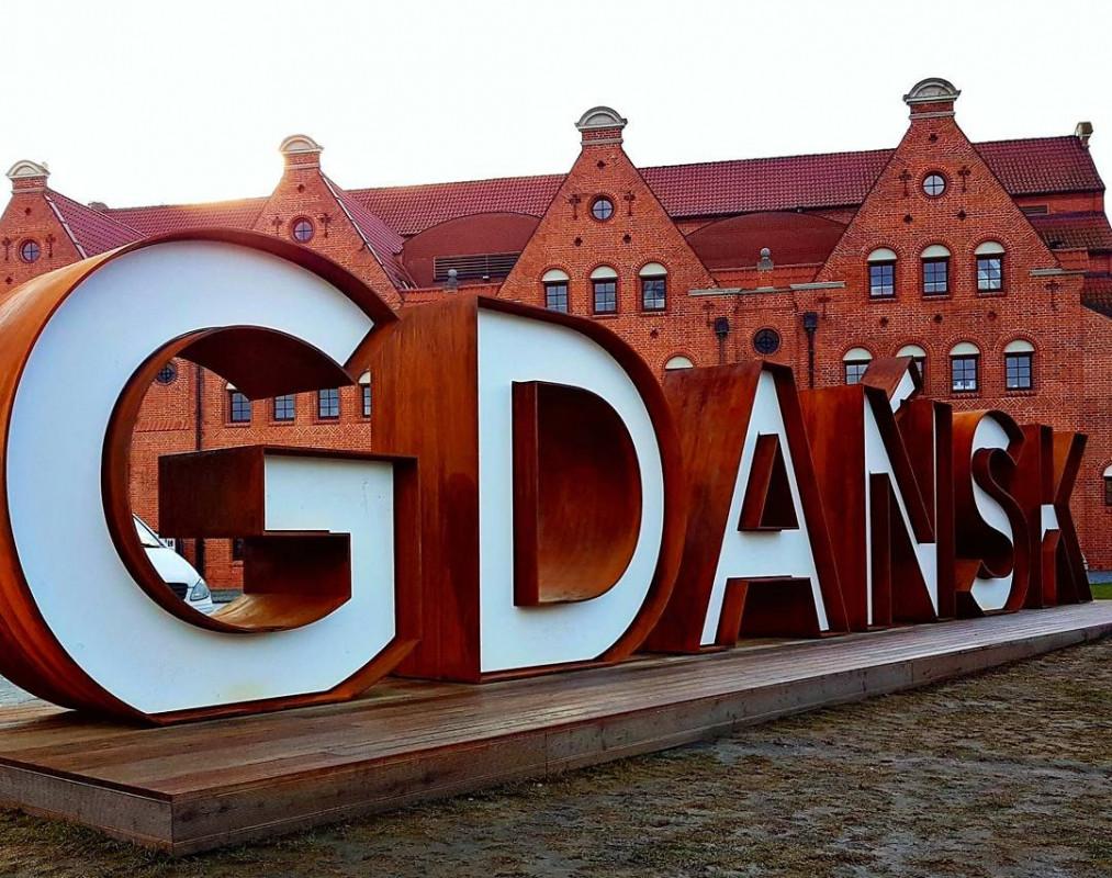 Napis 'Gdańsk'