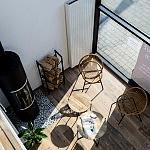 Wnętrze salonu kominkowego Manufaktura kominków w Redzie