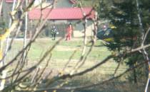 Akcja straży pożarnej w Chwaszczynie