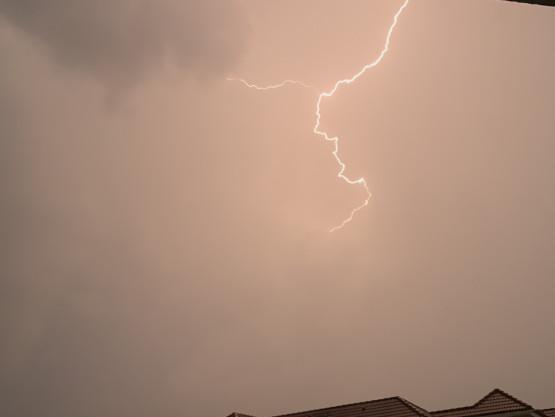 Burza wrociła nad Osowę