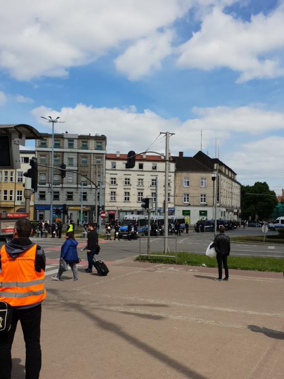 Marsz Równości idzie ulicami Gdańska