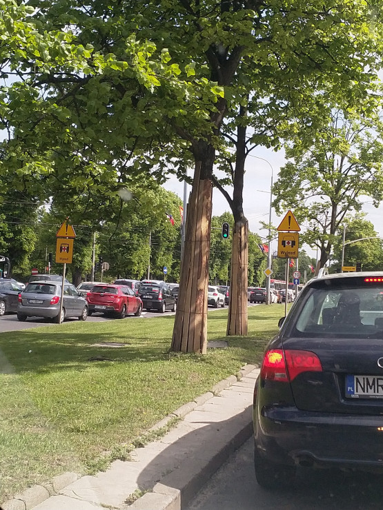 Korek na Trakcie Konnym do centrum Gdańska