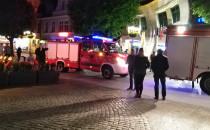 Interwencja straży pożarnej na Monciaku