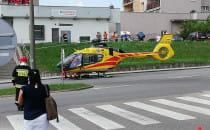 Śmigłowiec LPR lądował w Gdyni