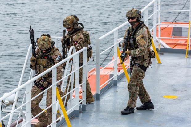 Ćwiczenia antyterrorystyczne Korsarz 19 w Gdyni