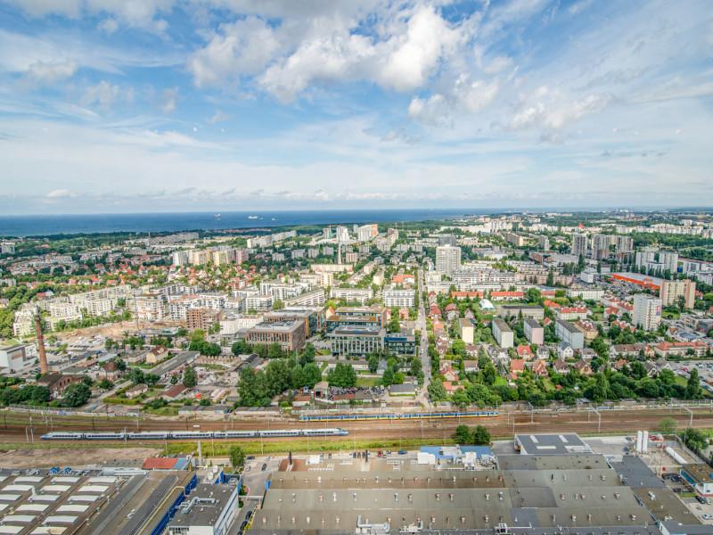 Olivia Star w Gdańsku. Taras widokowy na 32. piętrze czynny od 17 lipca