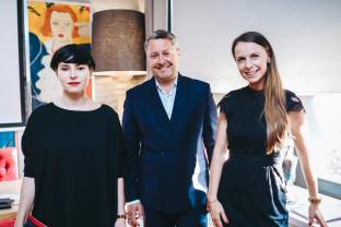 O związku biznesu ze sztuką. Spotkanie w L'Entre Villes