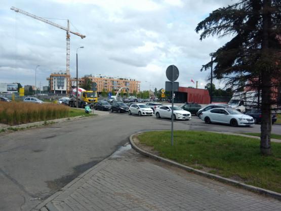 Ogromne utrudnienia na Wałowej w Gdańsku