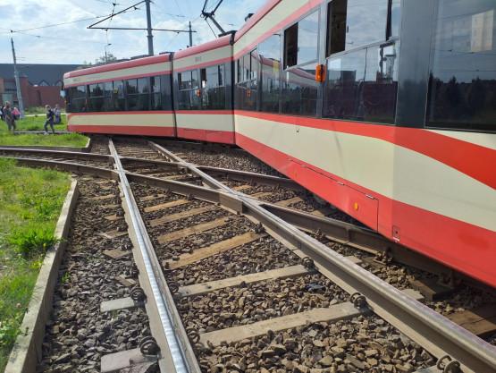 Gdańsk Chełm: wykoleił się tramwaj