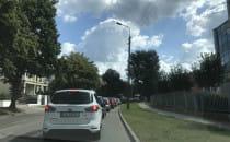 Tak przez rowerzystów wygląda dojazd do...