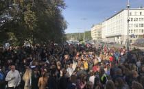 Młodzieżowy Strajk Klimatyczny w centrum...