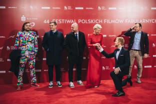 Gwiazdy na czerwonym dywanie 44. FPFF w Gdyni