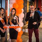 Hostessy i Konferansjer podczas otwarcia Mi Store w Gdyni.