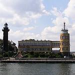 Latarnia morska w Nowym Porcie i kapitanat portu Gdańsk